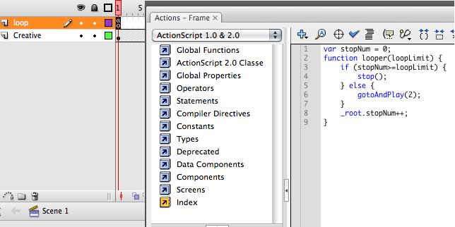 clickTAG and Loop Limit Flash Tutorial